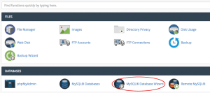 How to Create MySQL Database For XenForo in Various Panels